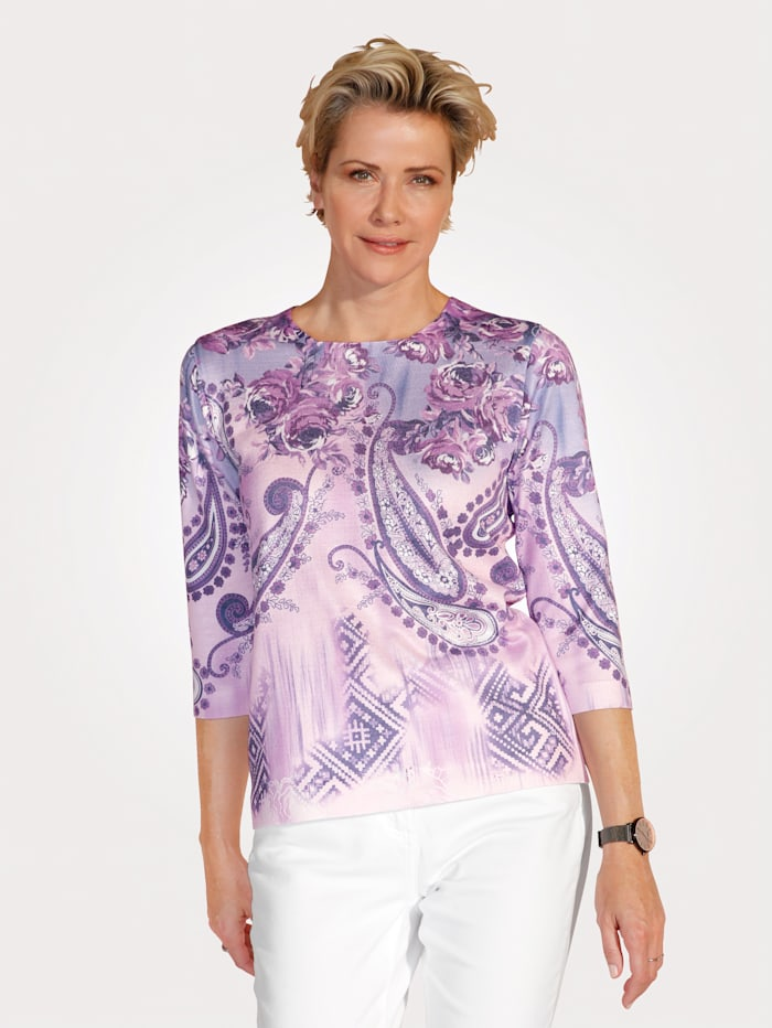 Jumper in a gorgeous print mix