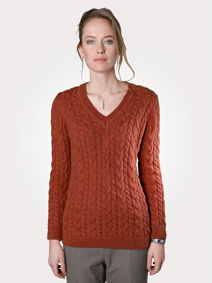 Jumper made from pure alpaca wool