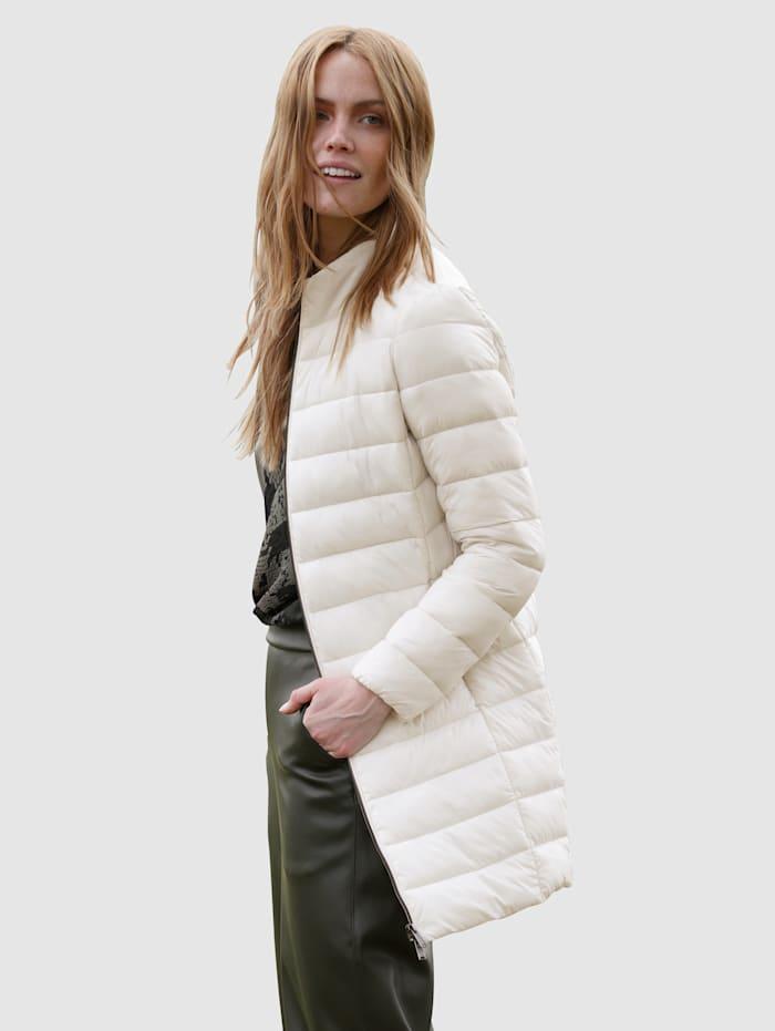 Gewatteerde jas van warm materiaal