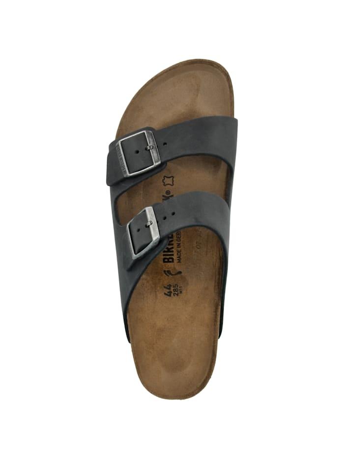 Sandale Arizona Nubukleder schmal