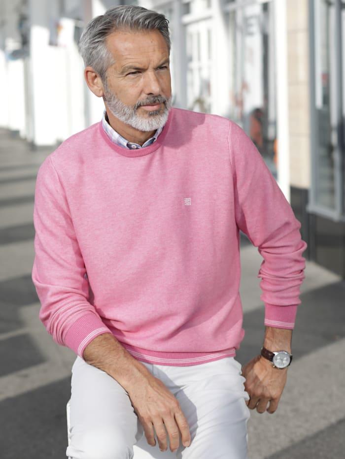 BABISTA Pullover aus reiner Baumwolle, Rosé