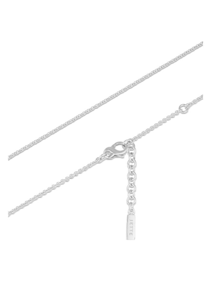 JETTE Silver Damen-Kette 925er Silber 23 Zirkonia