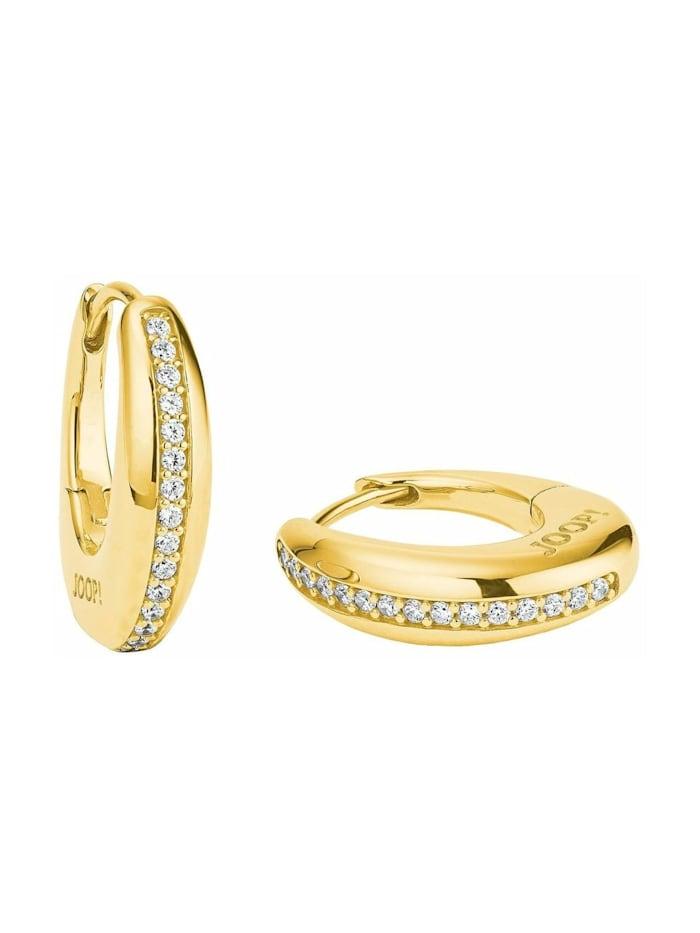 JOOP! Creolen für Damen, Sterling Silber 925, Gold