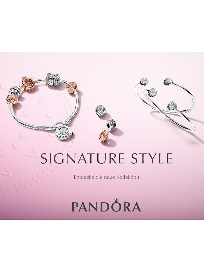 Clip-Charm -Pandora Logo- 792056CZ