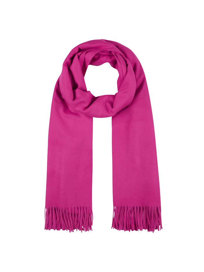 Codello Softer Oversized-Schal mit Viskose, dark pink