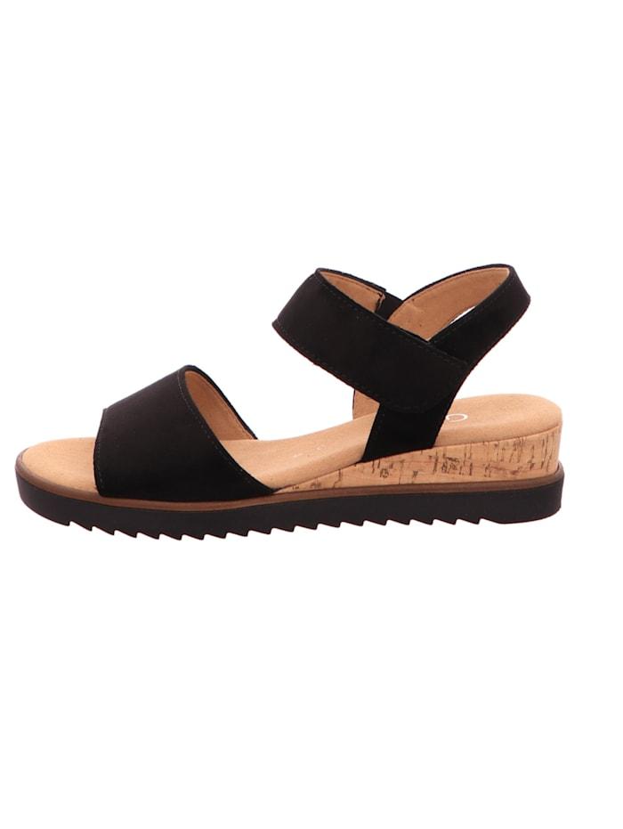 Damen Sandale in schwarz