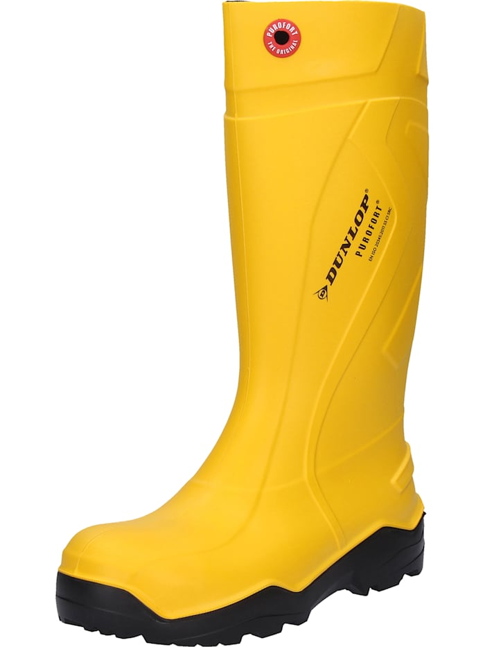 Dunlop Sicherheitsstiefel Purofort, gelb