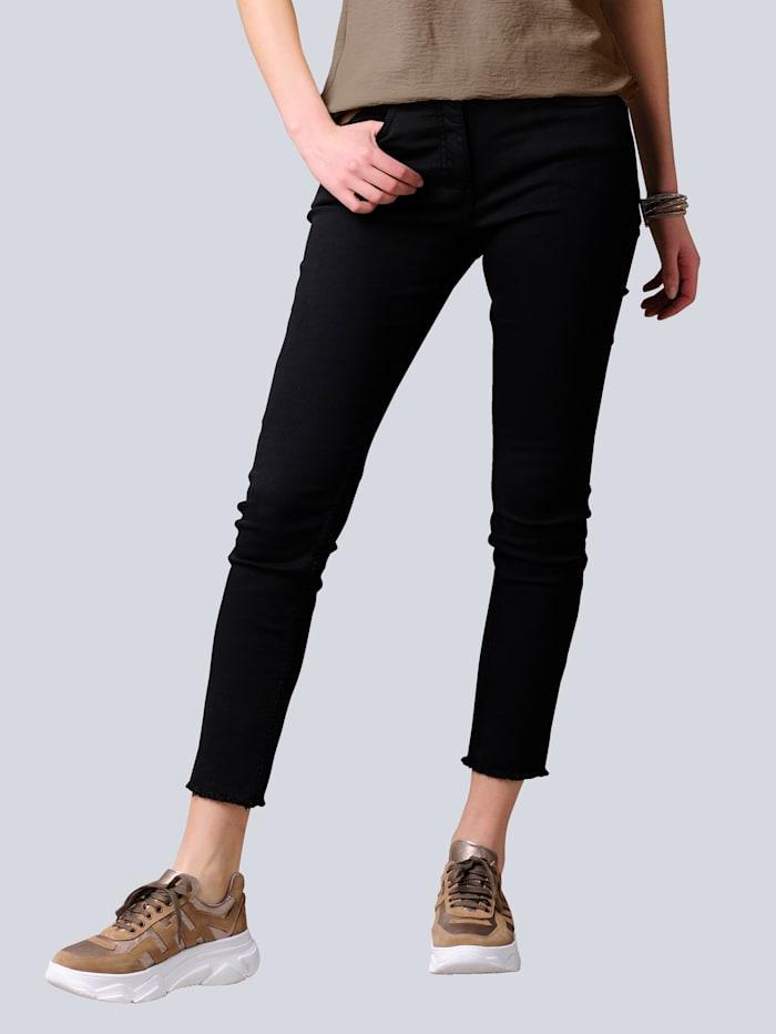 Alba Moda Jeans in 5-Pocket-Form, Schwarz