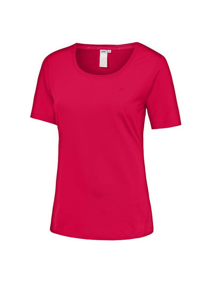 JOY sportswear T-Shirt AMBER, bergenia
