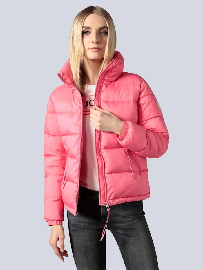 JOOP! Steppjacke mit breitem Stehkragen, Pink