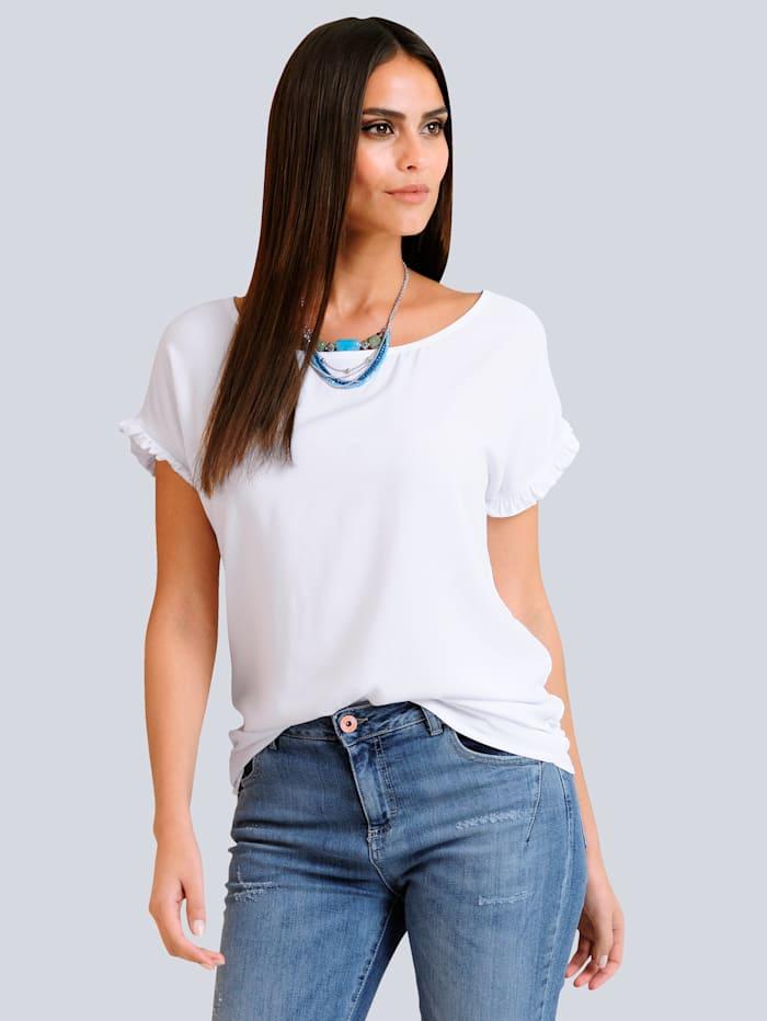 Shirt mit trendiger Rüschenkante