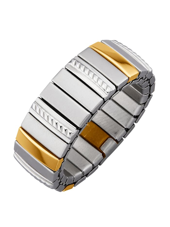 Magnetic Balance Jaloteräksinen naisten sormus, Hopeanvärinen