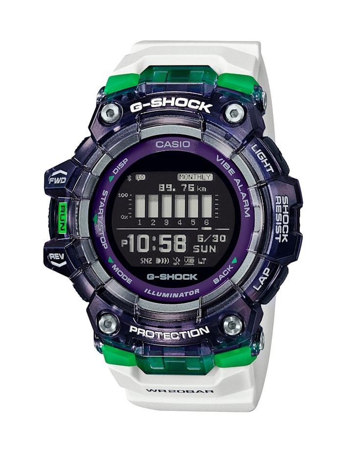 Casio Herren Smartwatch GBD-100SM-1A7ER, Weiß