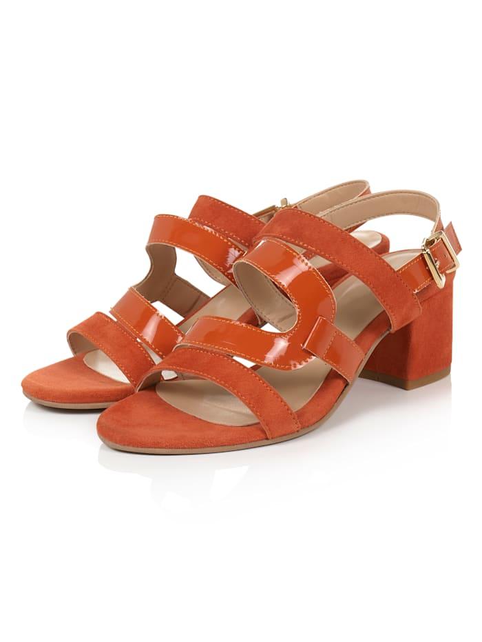 SIENNA Sandalette, Orange