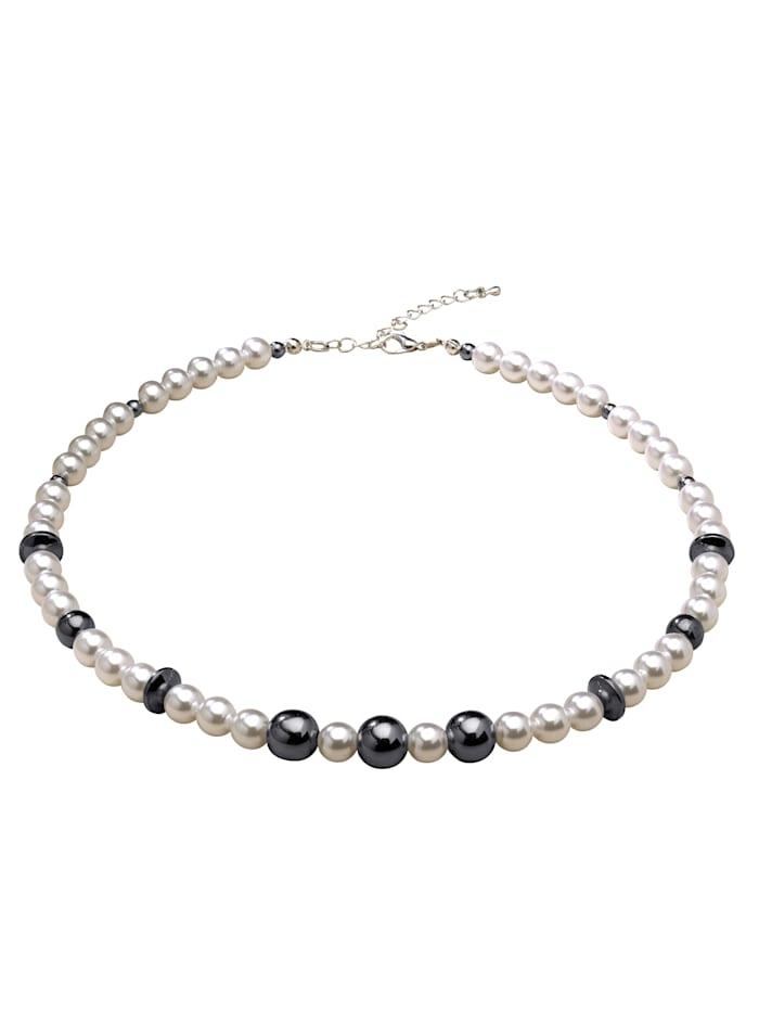 KLiNGEL Halskette, Weiß