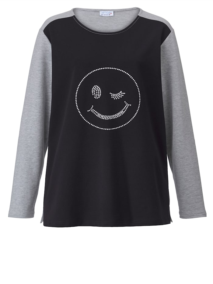 Sweatshirt mit Smiley