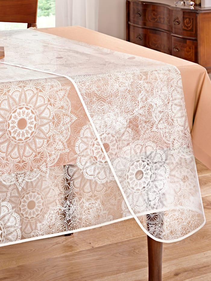 "Peyer-Syntex Nappe ""ornement"" transparente, transparente"