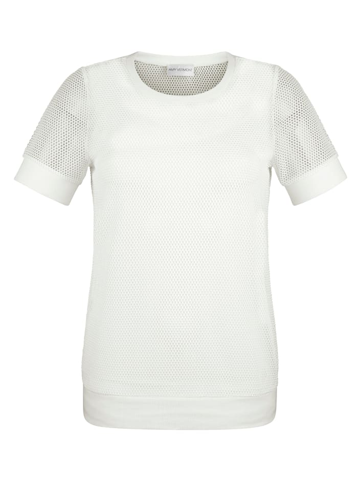 Shirt met topje in trendy stijl