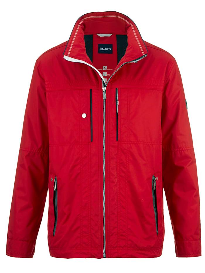 BABISTA Manteau avec fonction respirante, Rouge