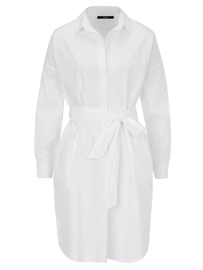 SET Blusenkleid, Off-white