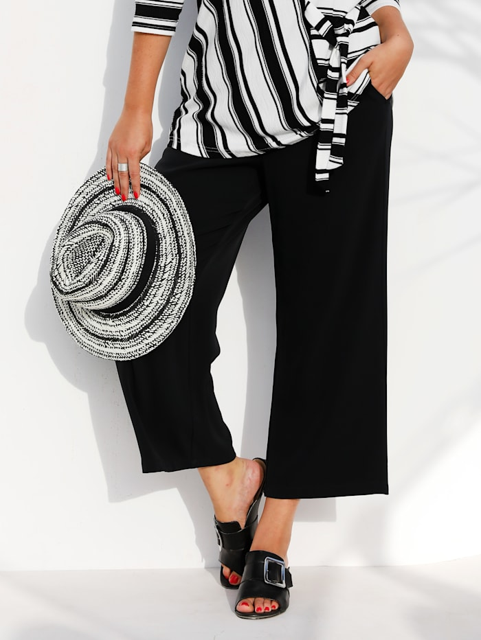 Culotte in trendy kort model