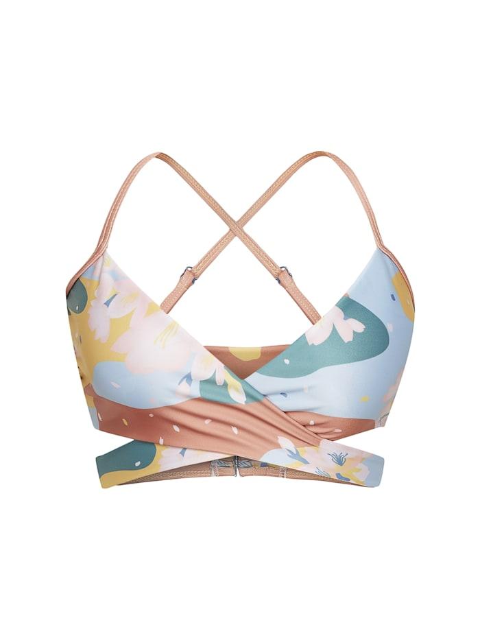 Boochen Wendbares Bikini-Top Arpoador, bunt