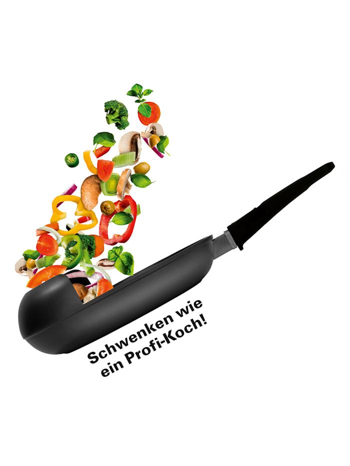 GOURMETmaxx Koekenpan EasyPan, zwart