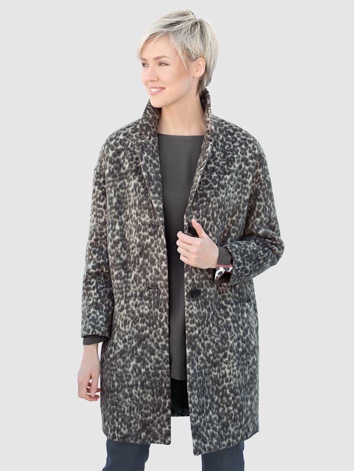 Eläinkuosinen takki