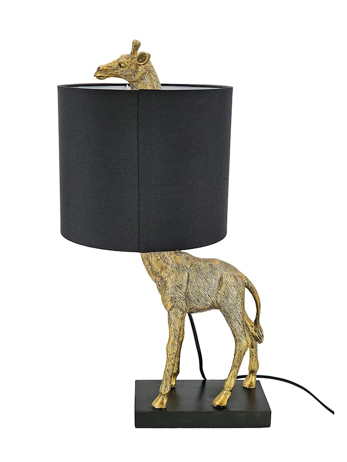 Casamaxx Tischleuchte 'Giraffe', Schwarz