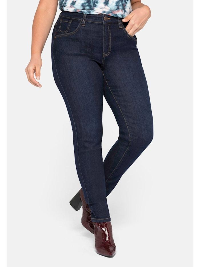 Sheego Sheego Jeans, blue black Denim