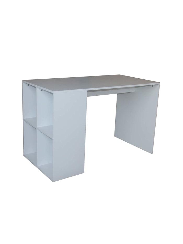 HTI-Line Schreibtisch Thekla Weiß, Weiß