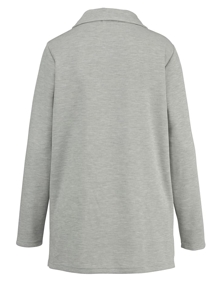 Sweatshirt in angesagter Basic-Form