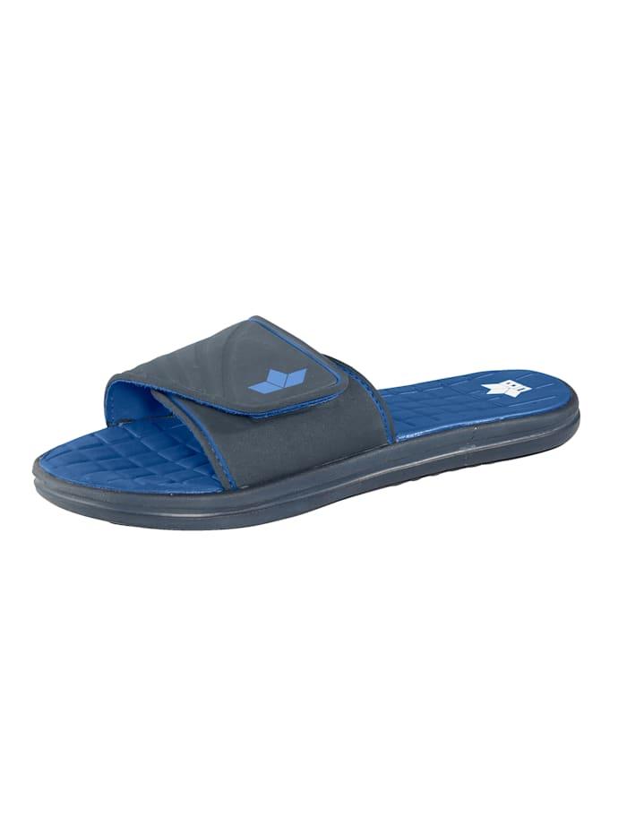 Badepantolette mit rutschhemmender Anti-Slip-Profilierung