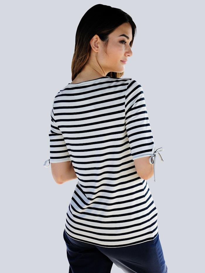 Strandshirt mit Ankerdruck