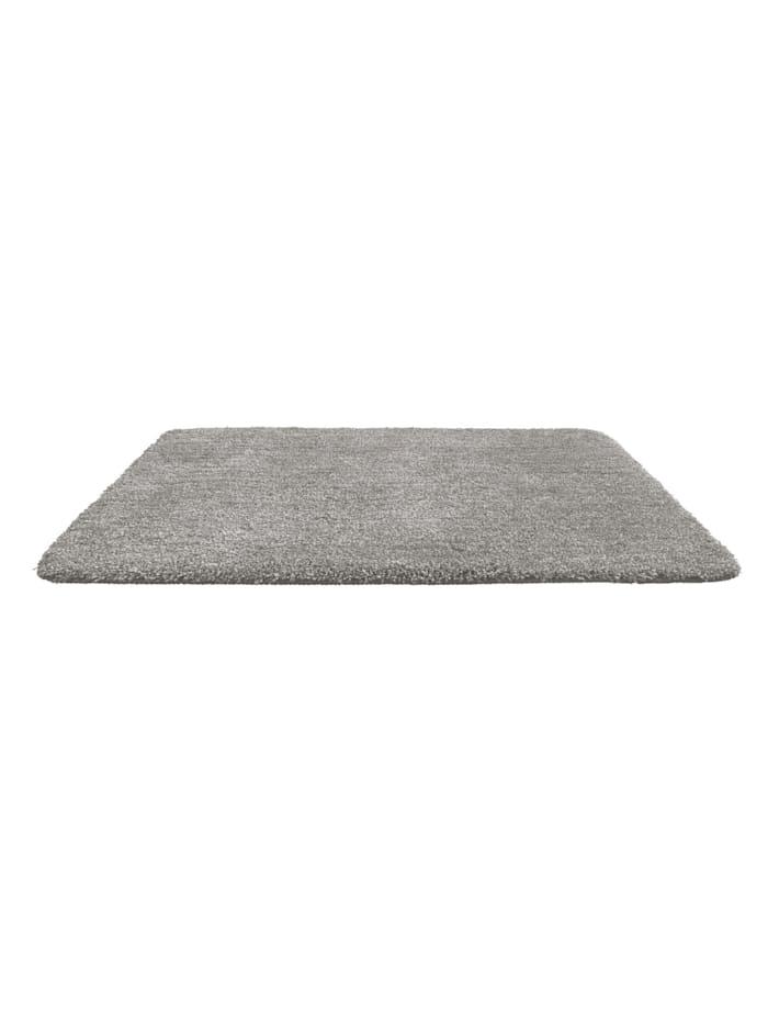 Badteppich Mélange Light Grey, 55 x 65 cm, Mikrofaser