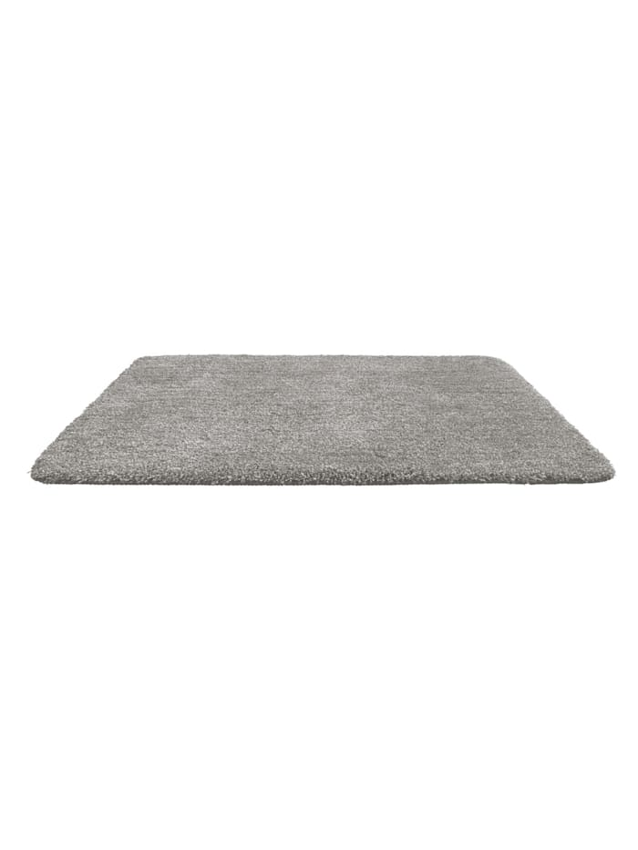Badteppich Mélange Light Grey, 70 x 120 cm, Mikrofaser