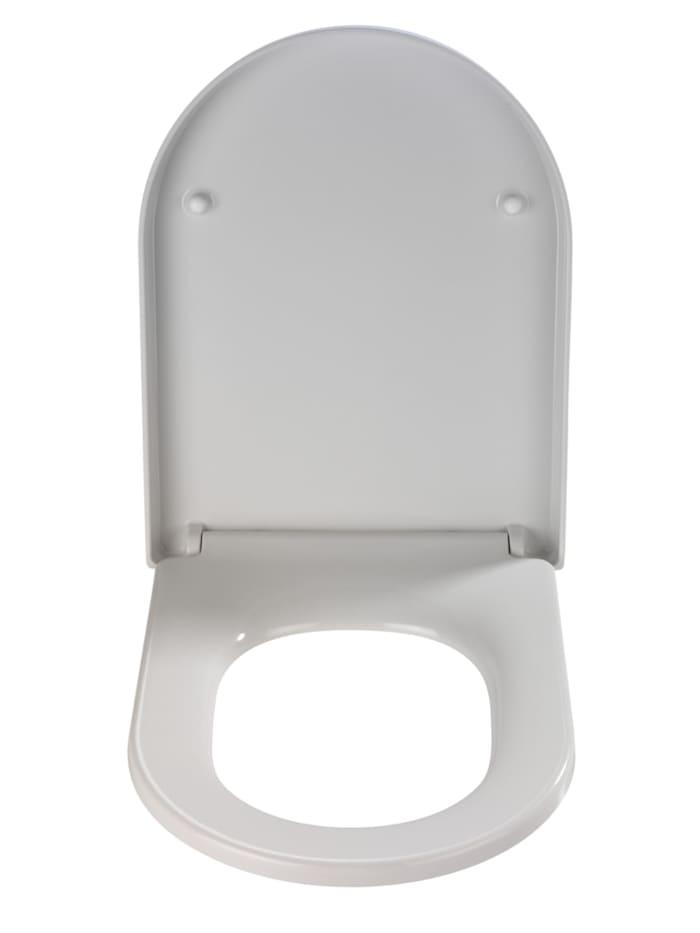 Premium WC-Sitz Palma, aus antibakteriellem Duroplast mit Absenkautomatik