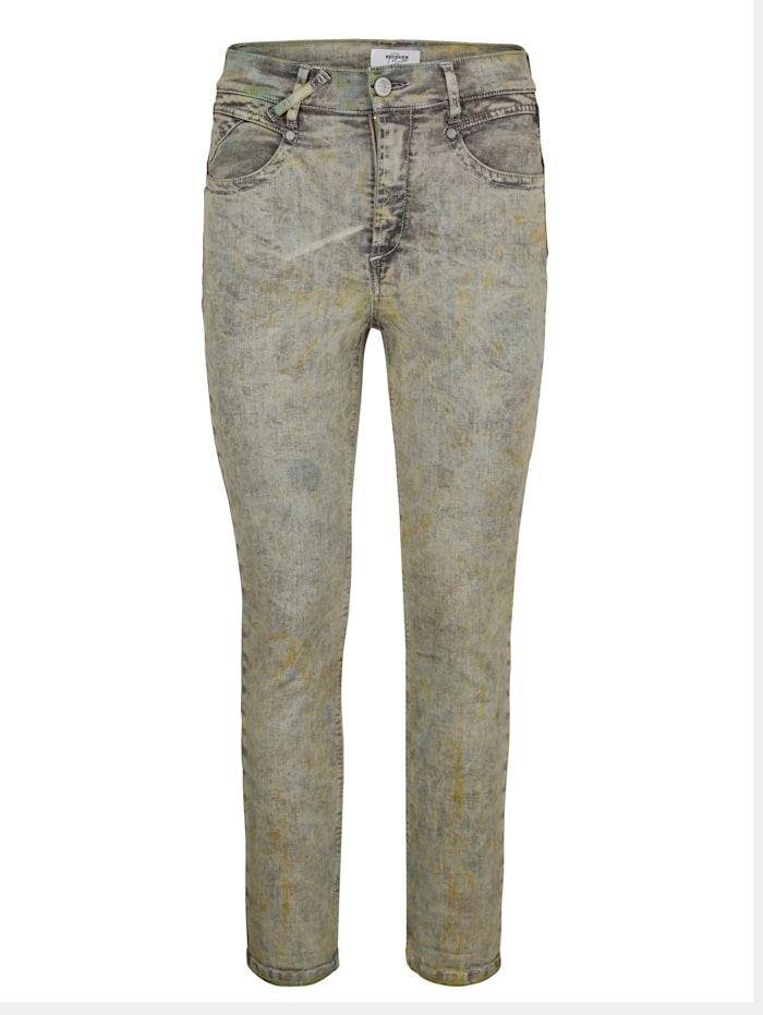7/8-Jeans mit effektvoller Färbung