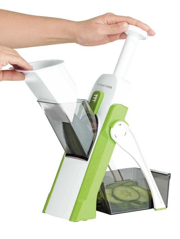 GOURMETmaxx GOURMETmaxx Gemüseschneider 'Multi Slicer Push N´Ready', grün