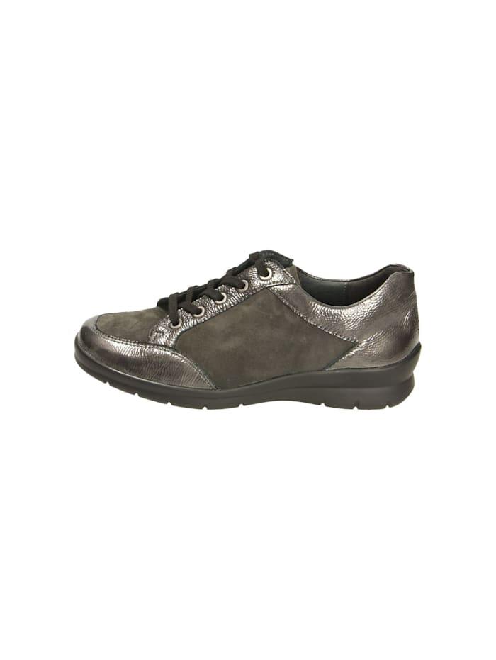 Damen Schnürschuh in grau