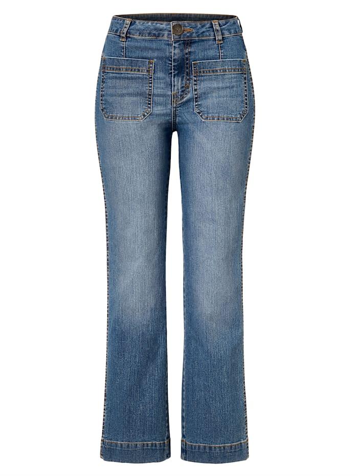 REKEN MAAR Jeans, Hellblau