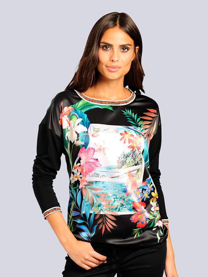 Shirt mit exklusivem Print