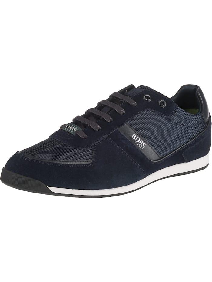 BOSS Model Glaze Sneakers Low, dunkelblau