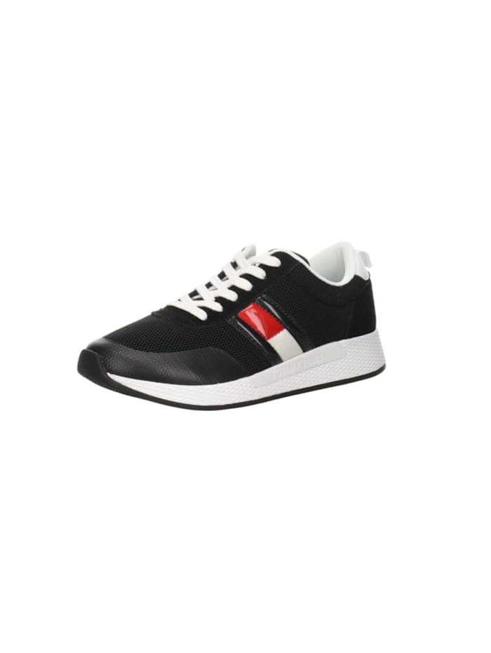 TOMMY HILFIGER Sneakers, schwarz