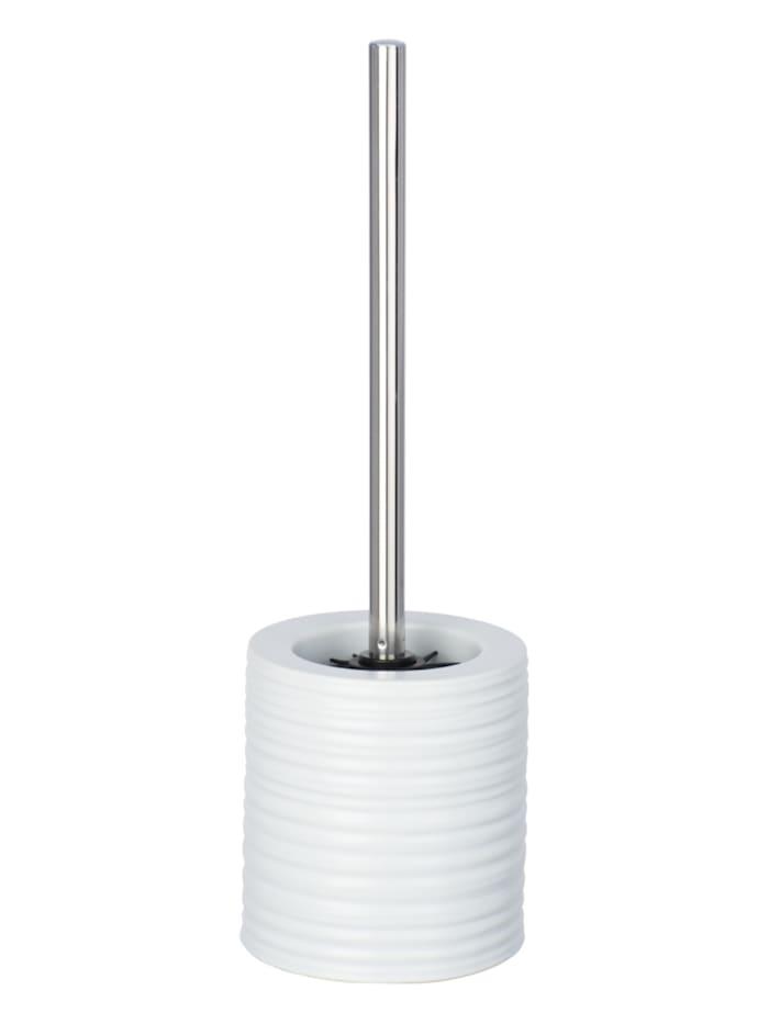 Wenko WC-Garnitur Mila Weiß Keramik, Weiß