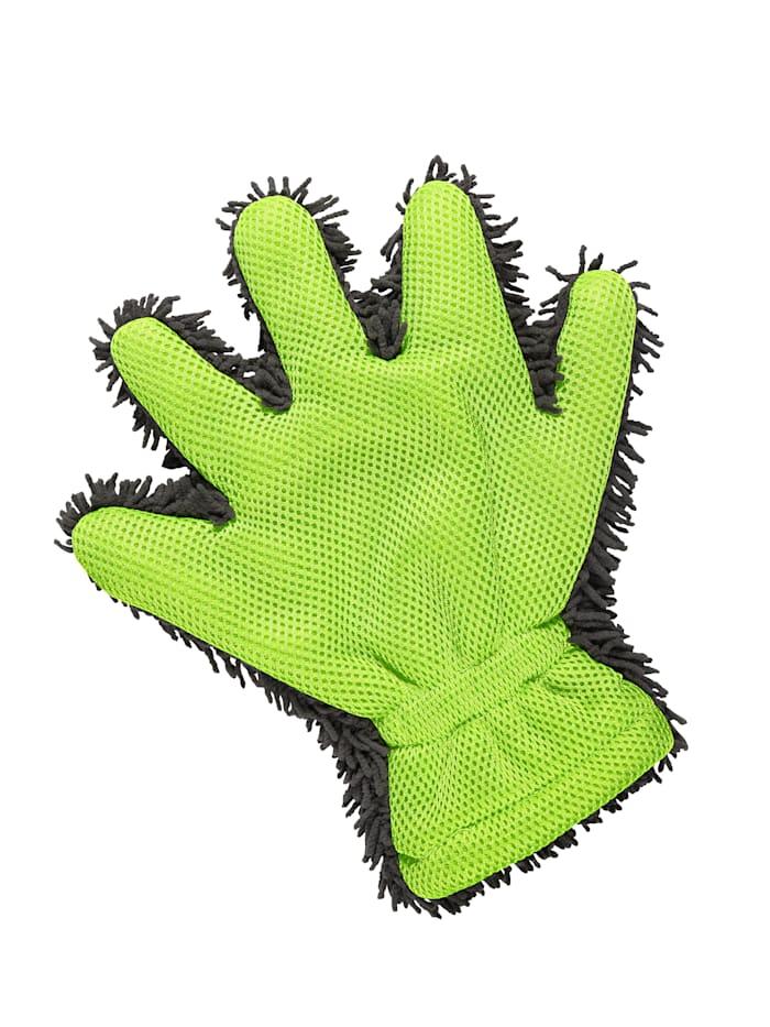 TRI Power-poetshandschoen, Groen/Grijs