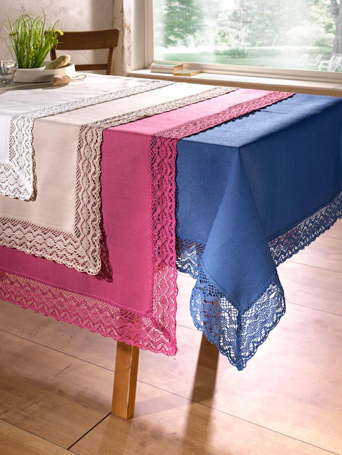 Webschatz Tischwäsche 'Janine', blau