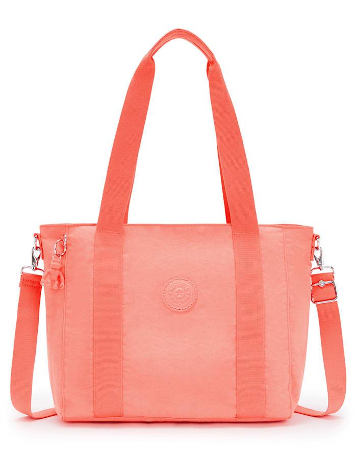 Kipling Basic Asseni S Shopper Tasche 40 cm, fresh coral