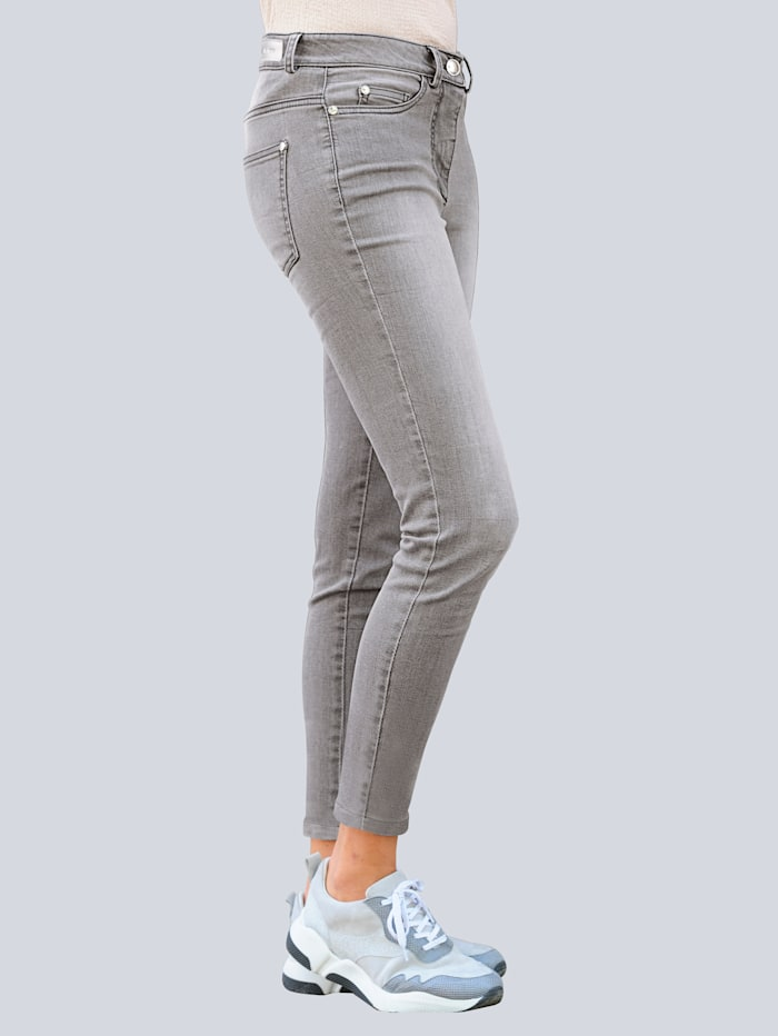 Jeans mit leichter Used-Waschung