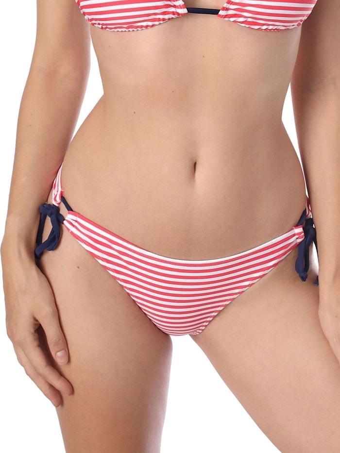 sassa Bikini Slip CLASSY STRIPE, red